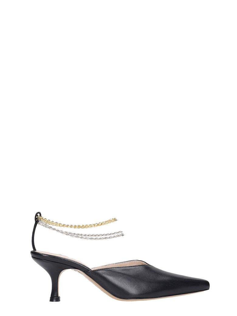 Kalda Ara  Pumps In Black Leather - black
