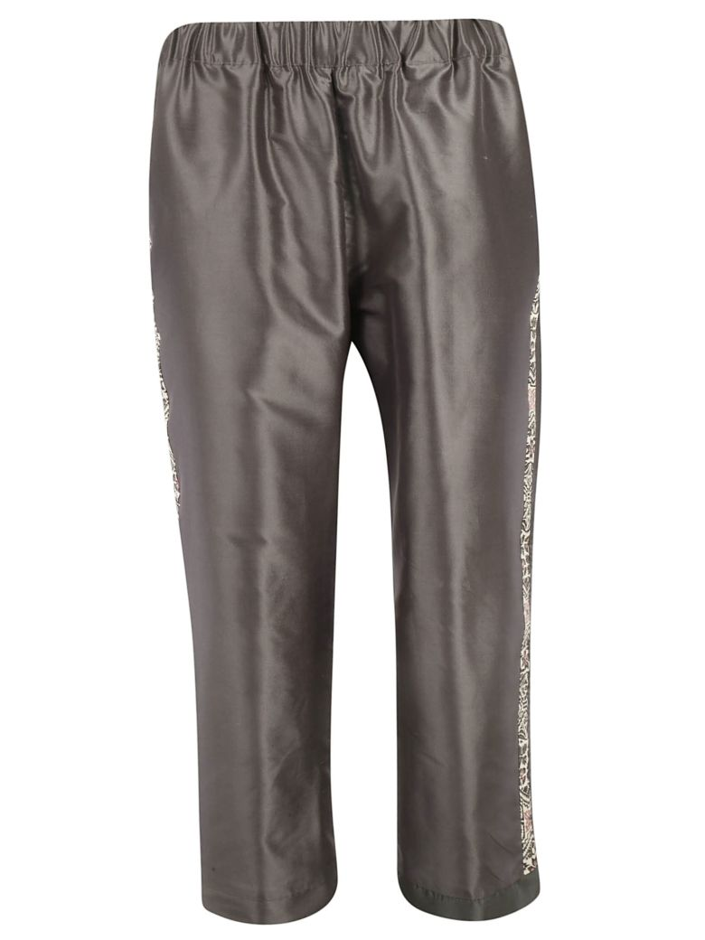 Ibrigu Side Printed Detail Trousers - Fantasy2