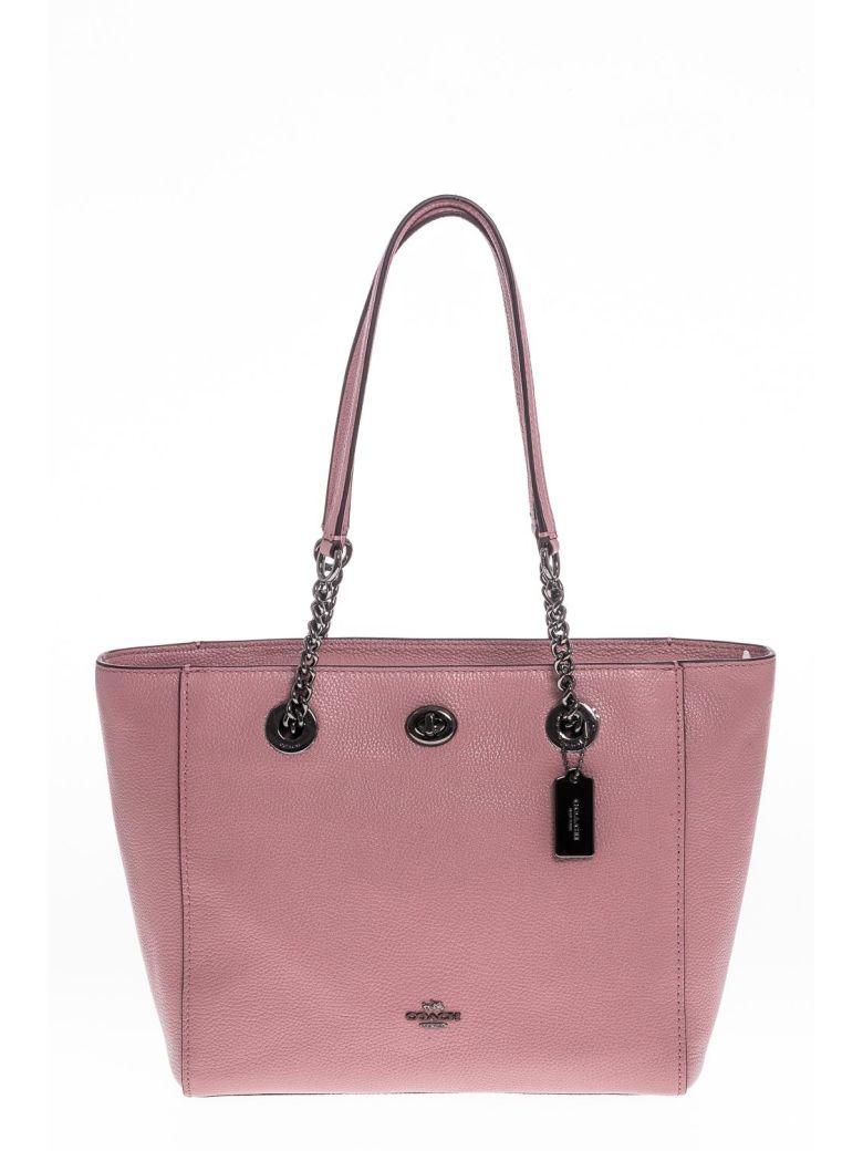8f76f7487 ... bags 3 d9530 92909 clearance coach shopping bag leather coach pink  e424e 9e00e ...