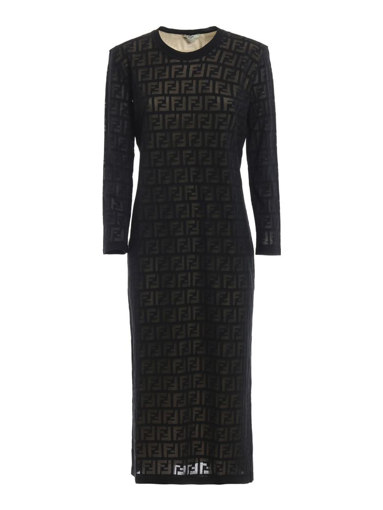 Fendi Ff Motif Dress - Gme Black