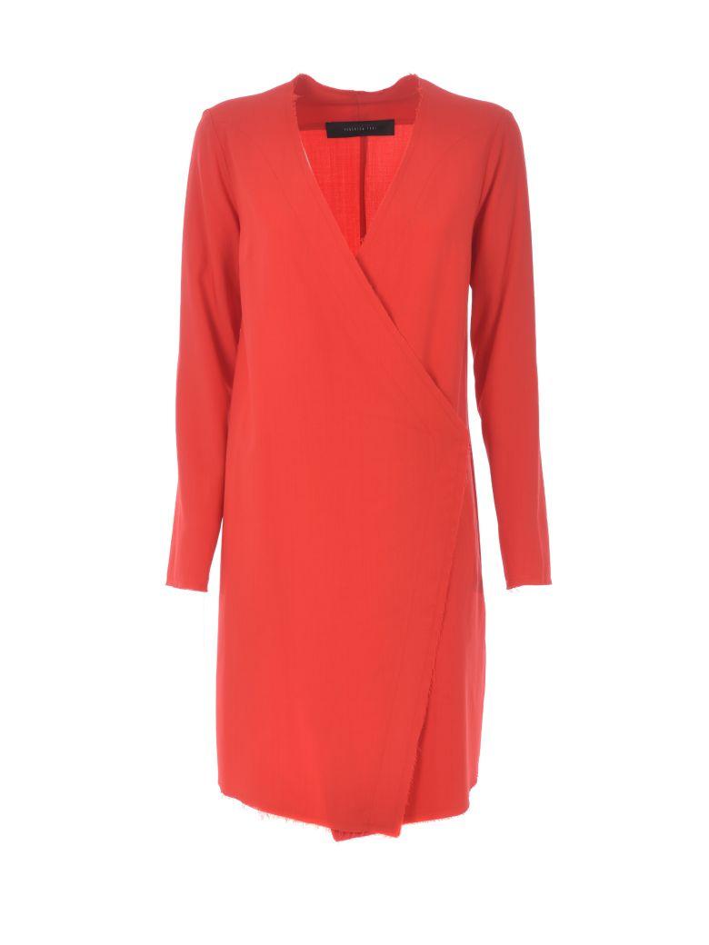 Federica Tosi Wrap Around Dress - Rosso