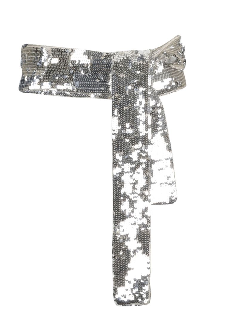 ATTICO The Attico Sequins Belt - Basic