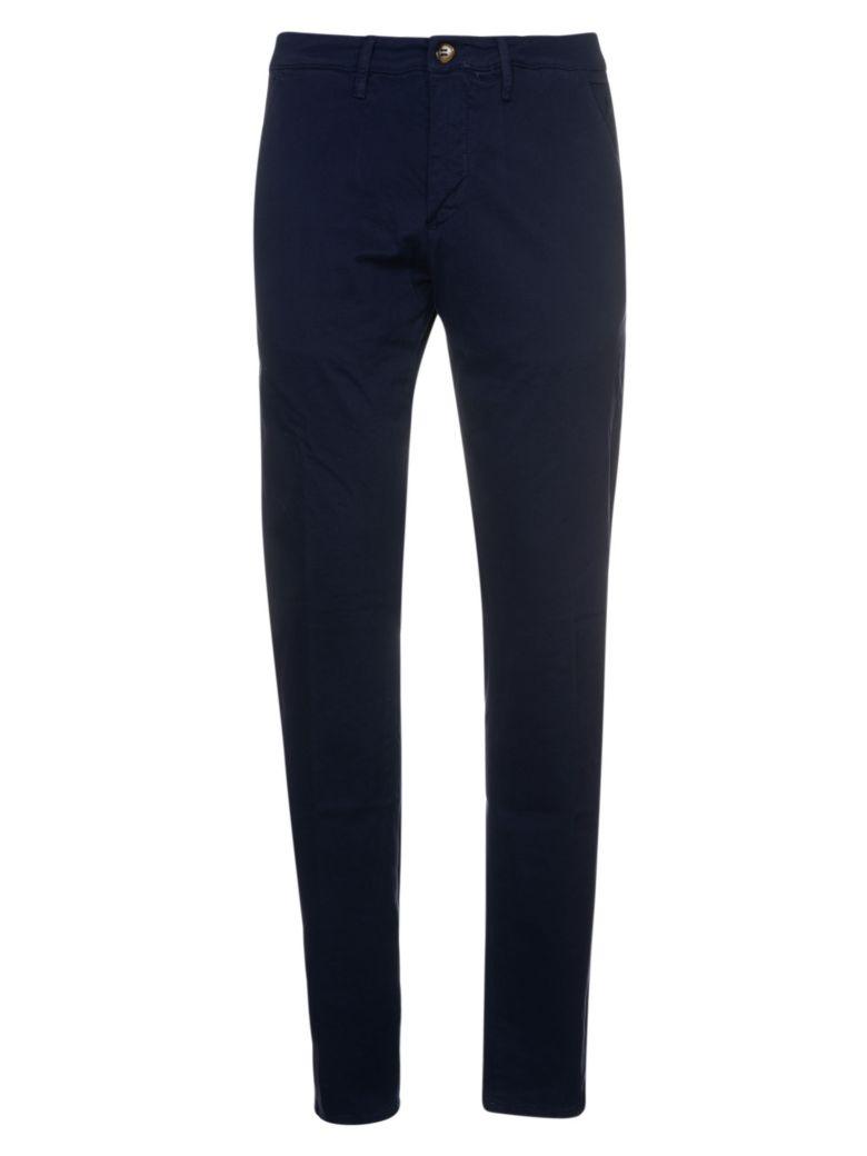 Jeckerson Chevron Trousers - Blu Navy