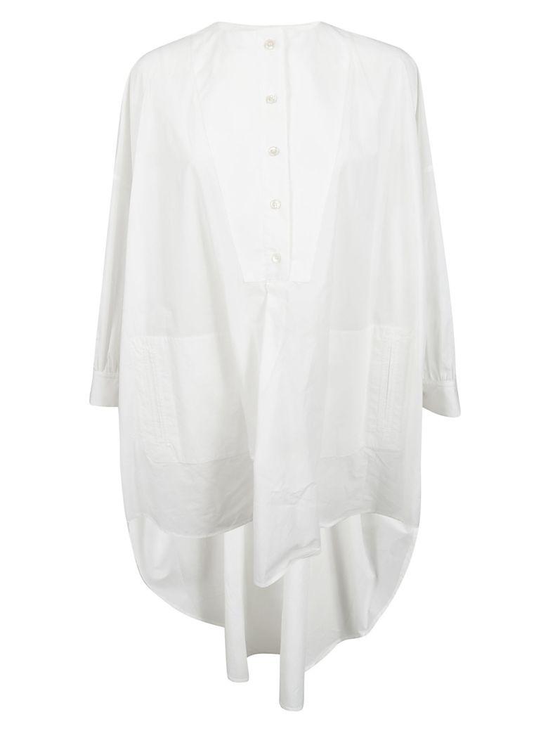 Golden Goose Plain Button Shirt - White