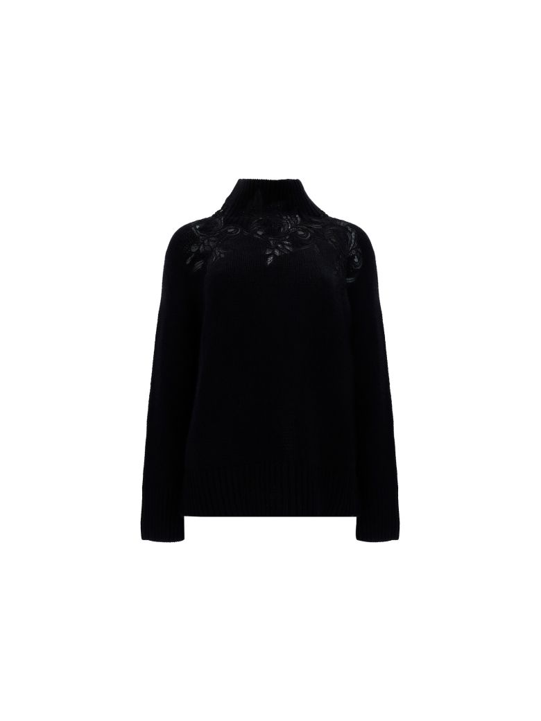 Ermanno Scervino Sweater - Black