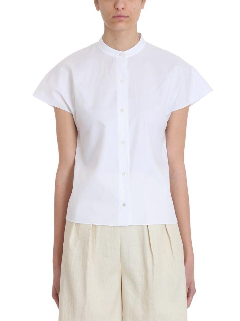 Theory Dolman White Cotton Shirt - white
