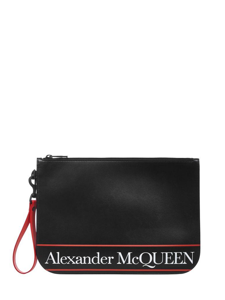Alexander McQueen Clutch - Black/red