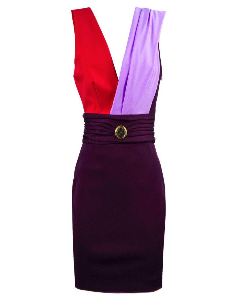 Fausto Puglisi Multicolor Lycra E Jersey Mini Dress - Multicolor