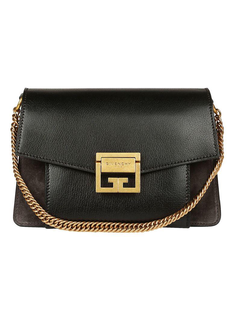 Givenchy Gv3 Shoulder Bag - Black grey