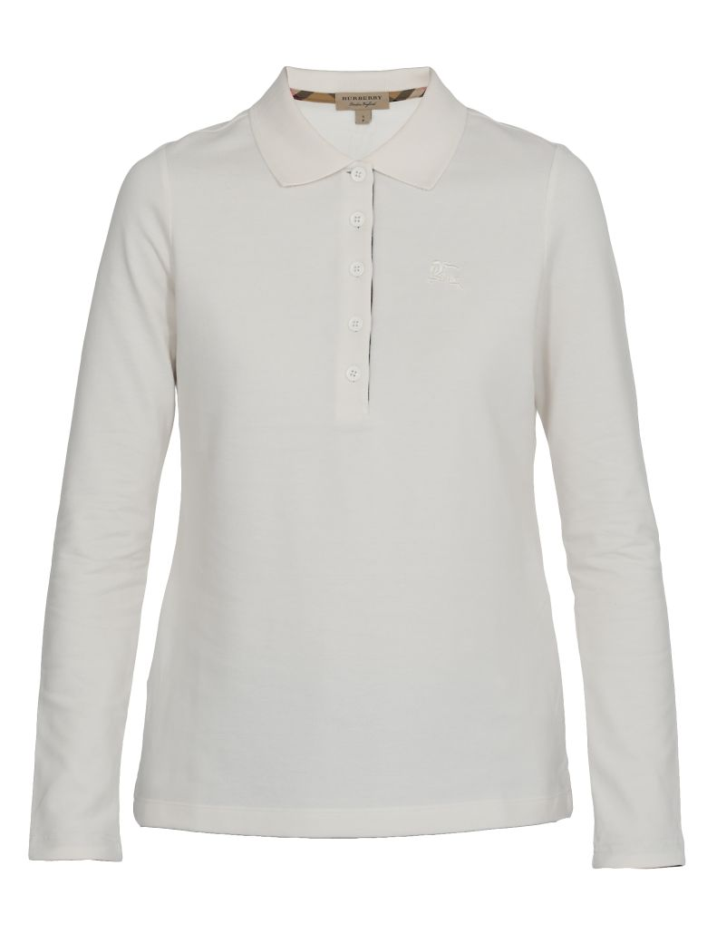 Burberry Zulia Polo Shirt - IVORY