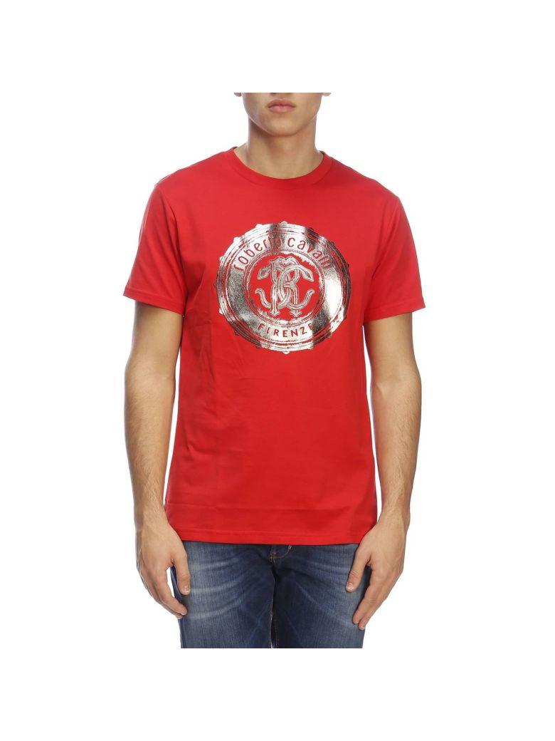 Roberto Cavalli T-shirt T-shirt Men Roberto Cavalli - red