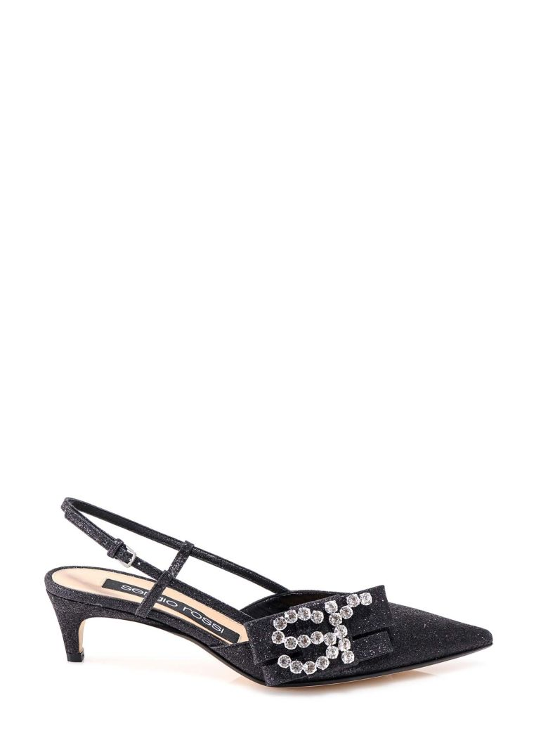 Sergio Rossi Sandals - Black