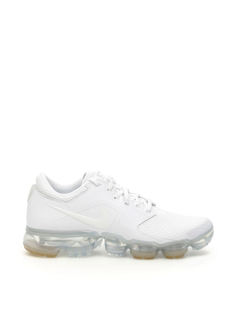Nike Air Vapormax Sneakers - WHITE METALLIC SILVER GLACIER BLUE (White)