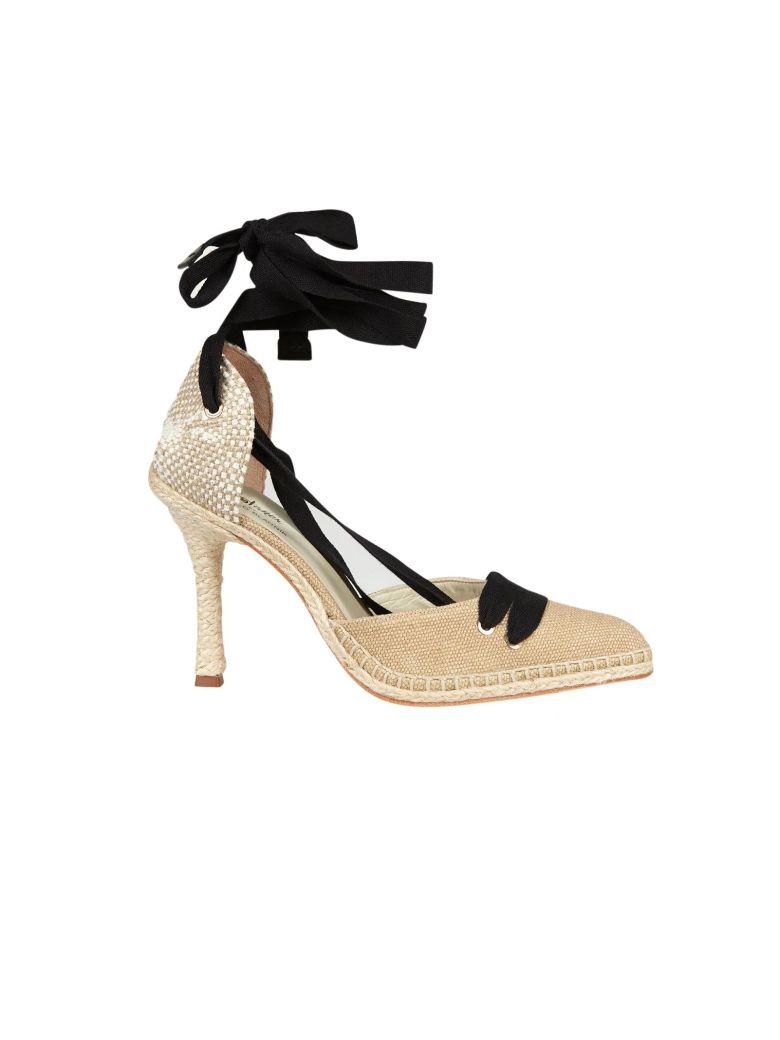 Castañer by Manolo Blahnik Castaner High Heel Sandals - Beige