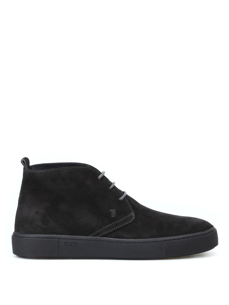 Tod's 56a Suede Desert Boots - Basic