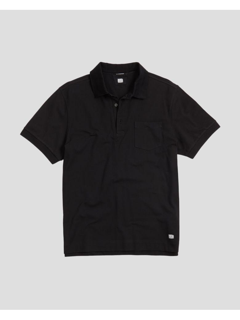 C.P. Company Polo - Short Sleeve - Black