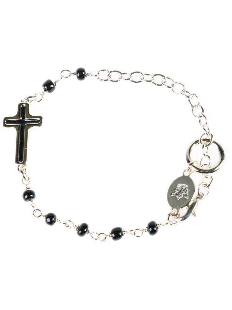 Gaia D'Este Bracelet Sfere Silver - Black