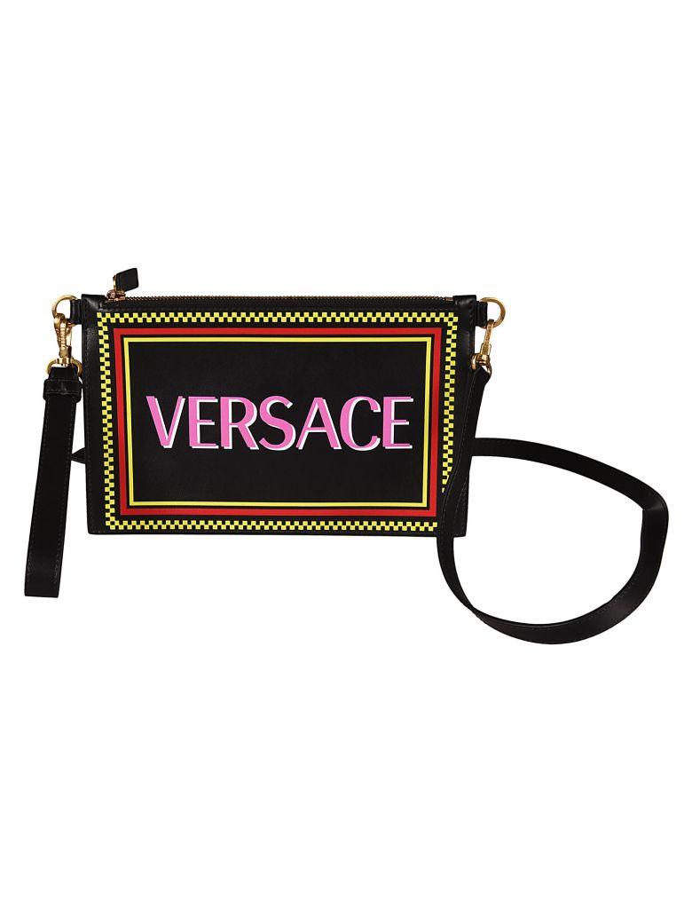 Versace Logo Clutch - Multicolor