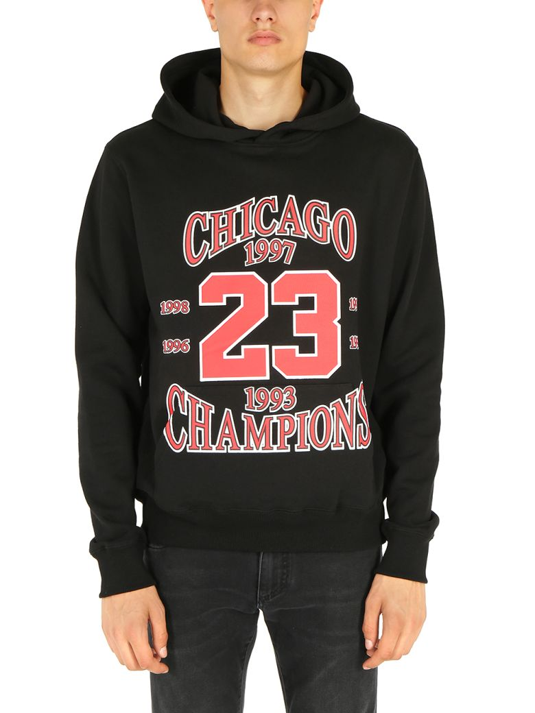 ih nom uh nit - Ih Nom Uh Nit Hoodie Chicago - Black