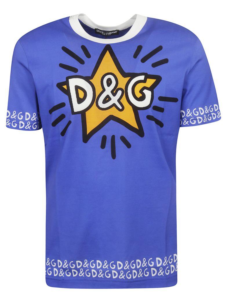 Dolce & Gabbana Logo Print T-shirt - Basic