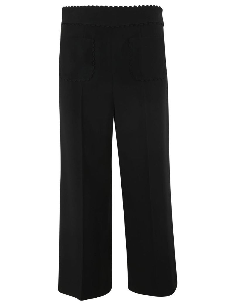 RED Valentino Frisottino Stretch Trousers - Black