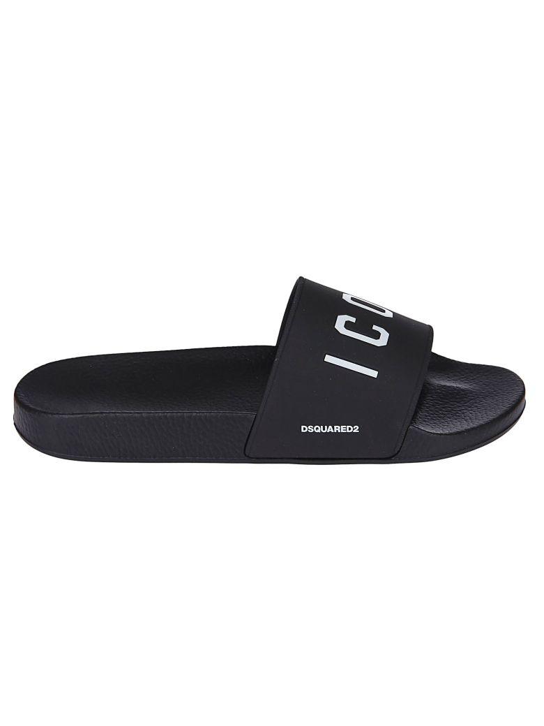 Dsquared2 Icon Sliders - Black/White