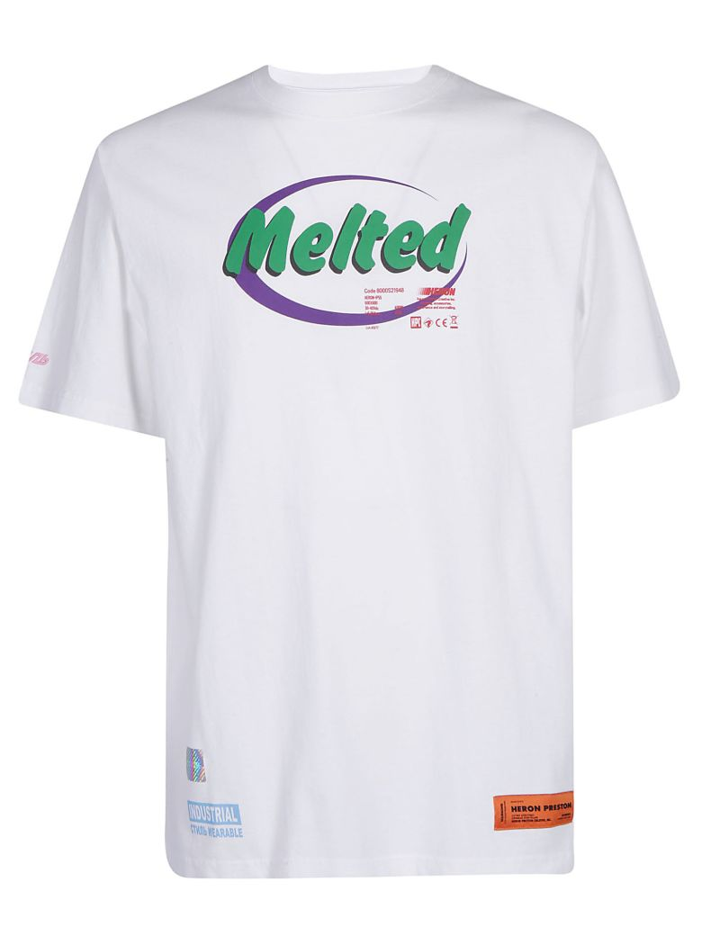 Heron Preston T-shirts HERON PRESTON MALTED T-SHIRT