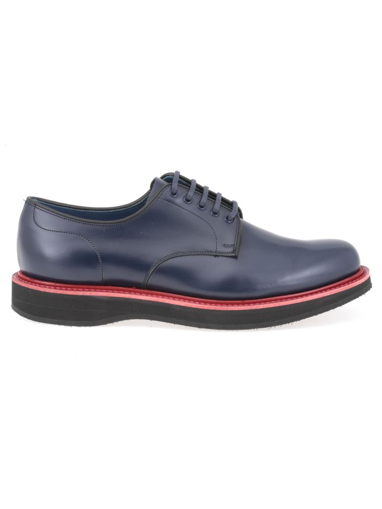 Church's Leyton 5 Lace Up Shoe - BALTIK+RED