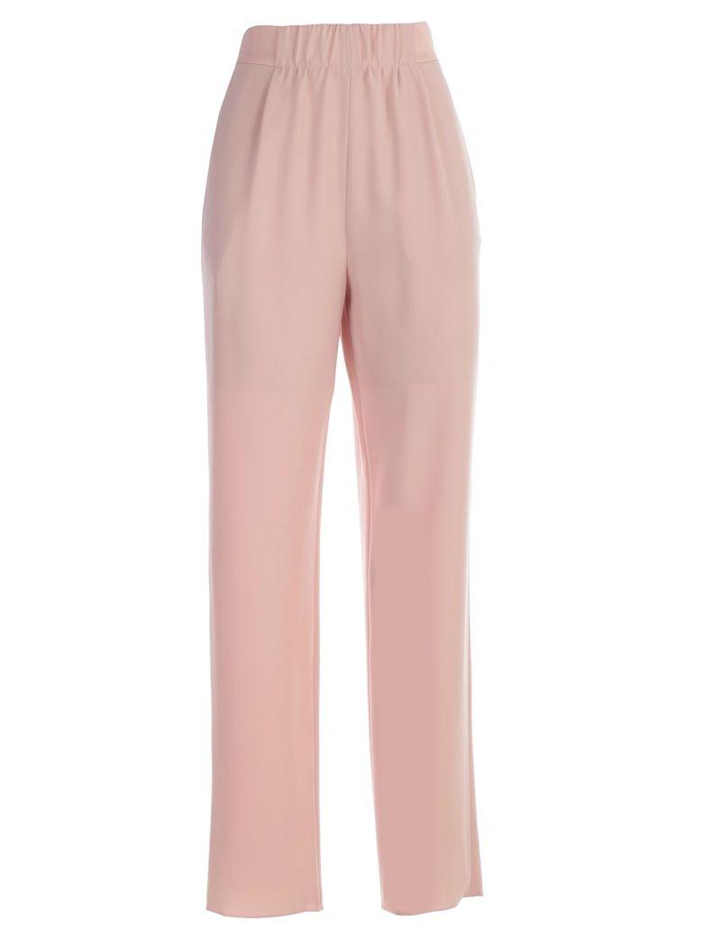 Emporio Armani High Waist Trousers - Rosa