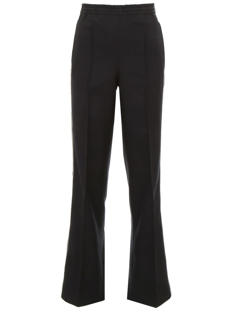 Prada Linea Rossa Trousers With Side Band - NERO (Black)