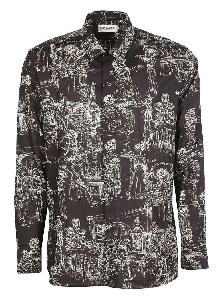 Saint Laurent Shirt - Noir craie