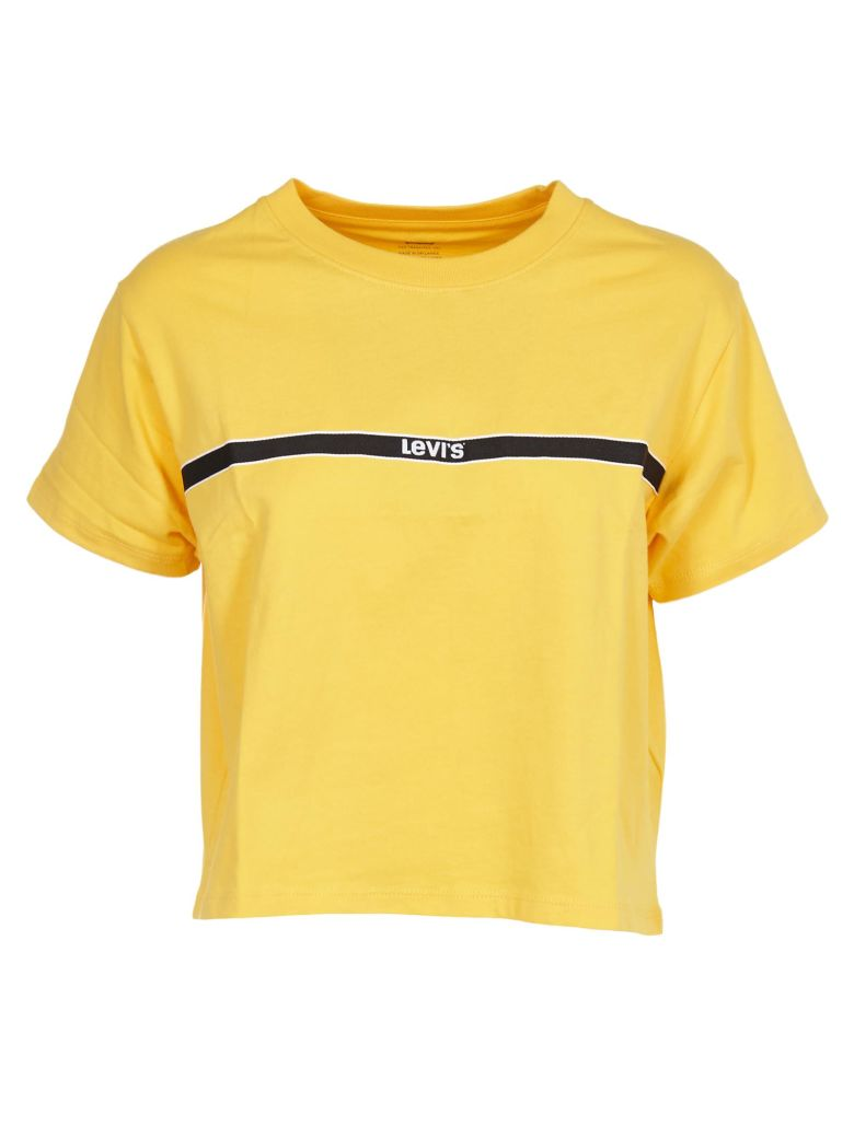 Levi's Cropped T-shirt - Giallo