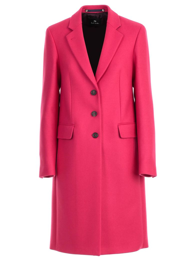 Ps By Paul Smith COAT SINGLE BREASTED 3 BUTTONS