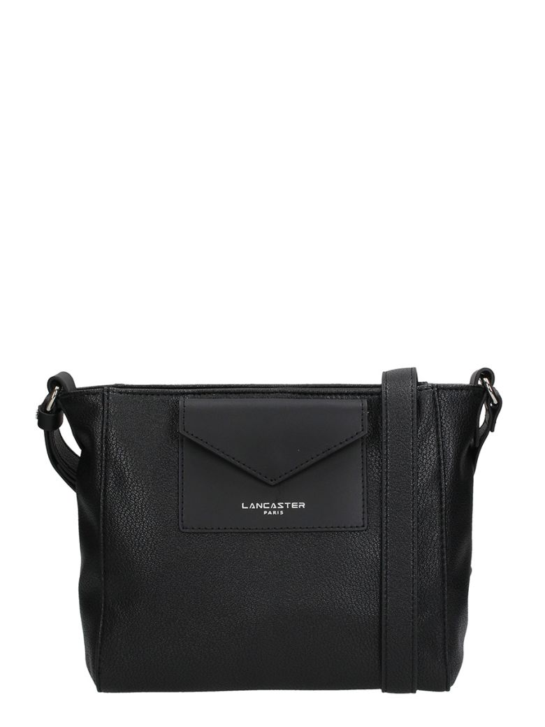 Lancaster Paris Crossbody Maya Black Leather Bag - black