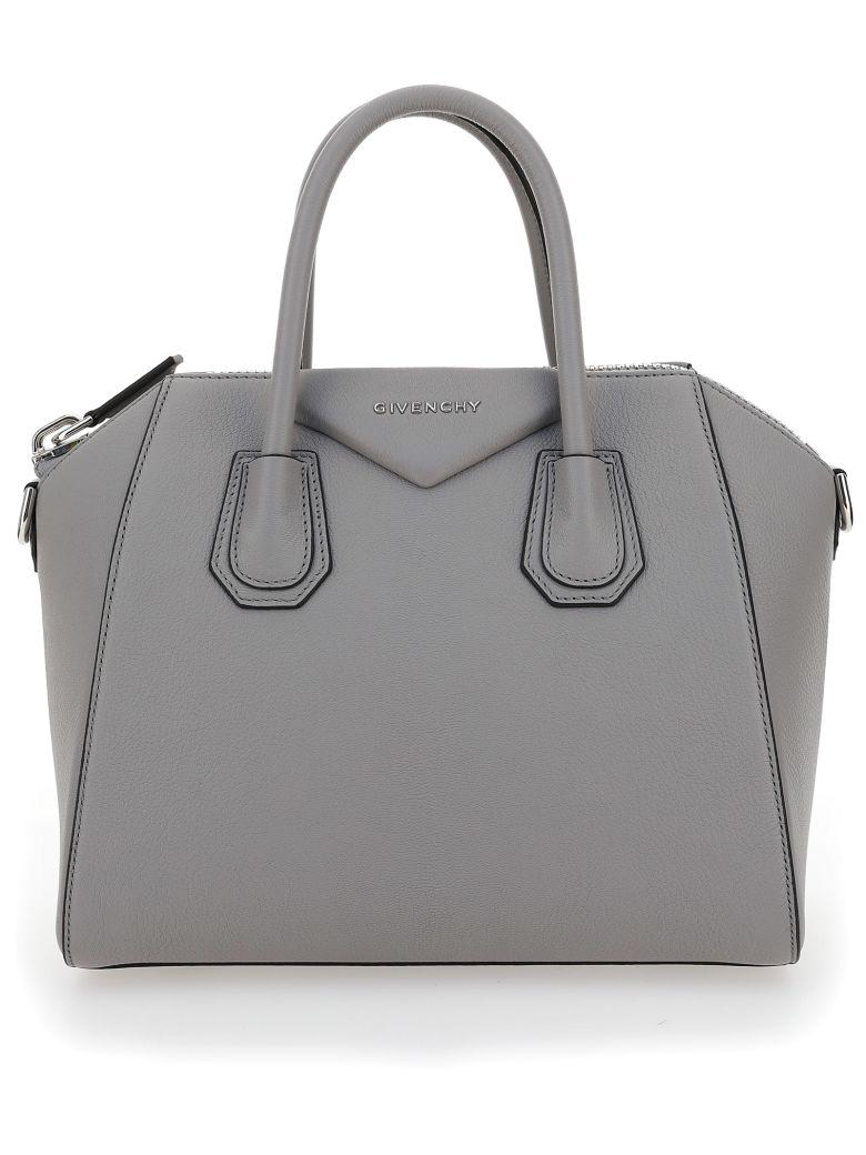 Givenchy Antigona Shoulder Bag - Pearl grey