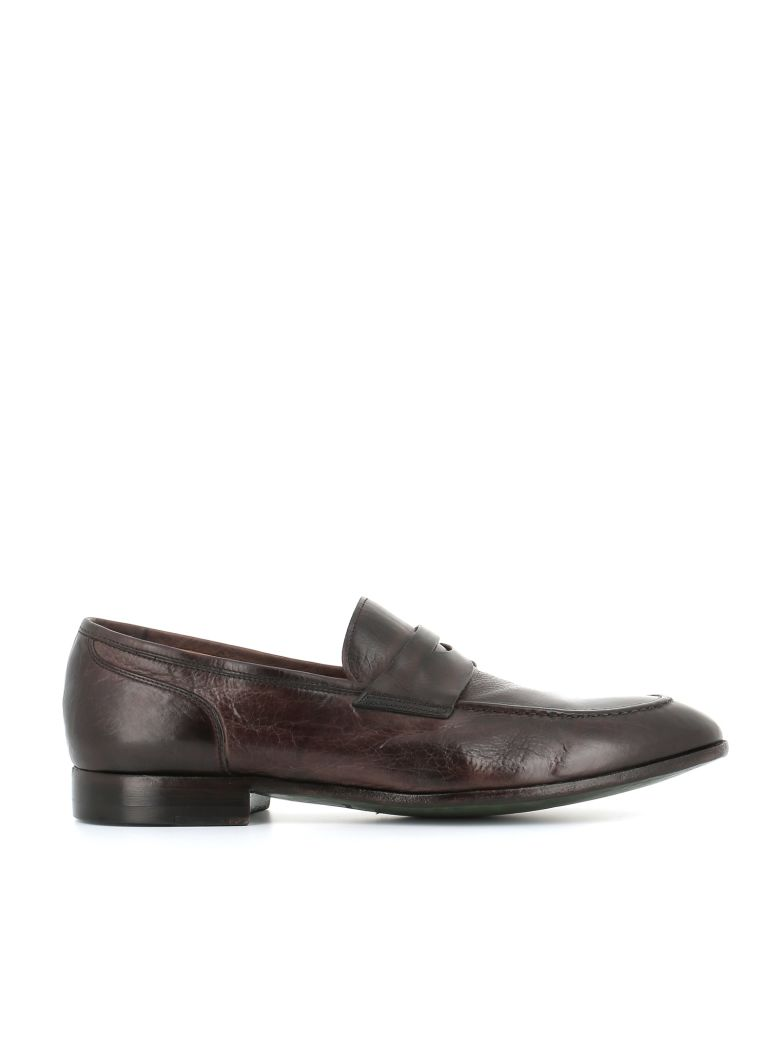 "Green George Loafers ""7072"" - Ebony"