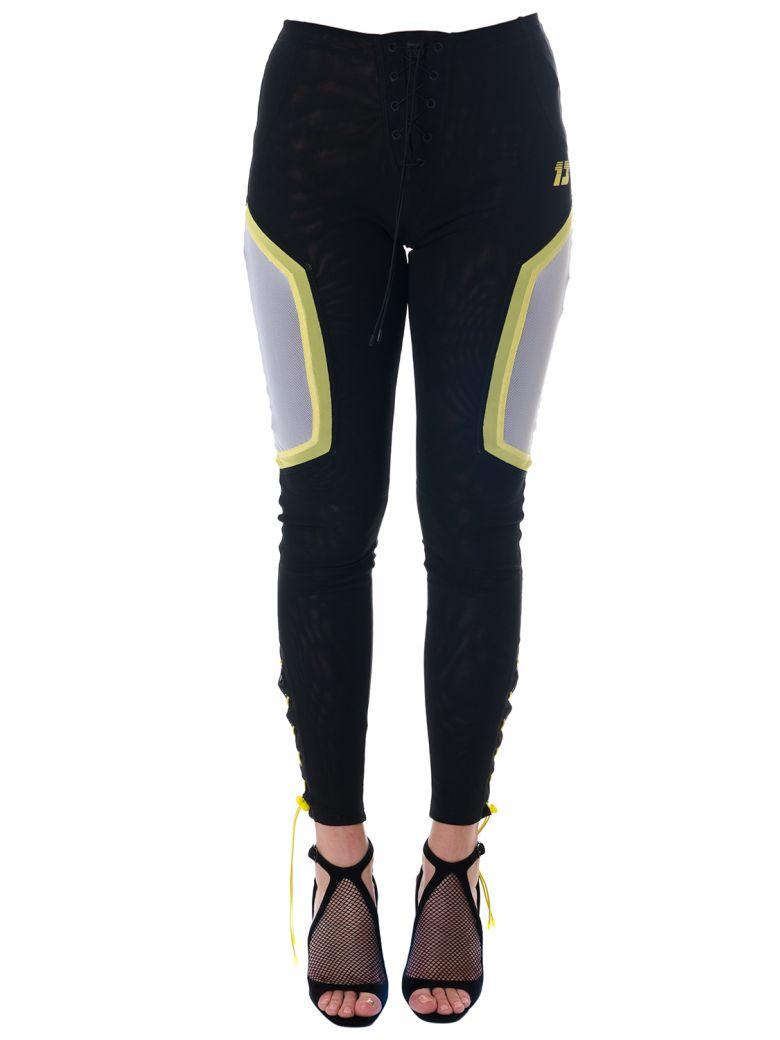 Fenty Puma by Rihanna Black Sporty Pants With Mesh Details - Black