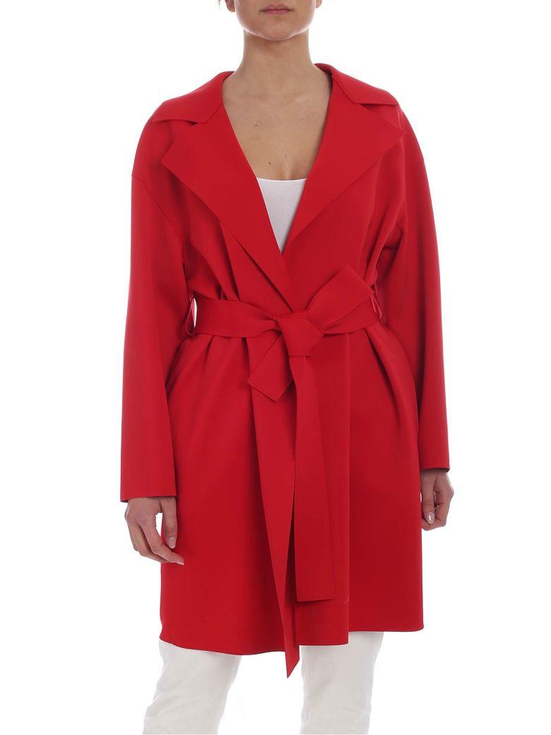 Harris Wharf London - Overcoat - Red