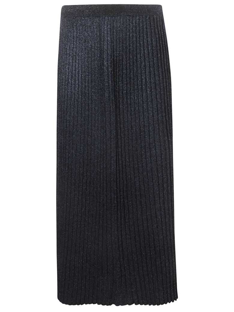 Charlott Pleated Skirt - Blu