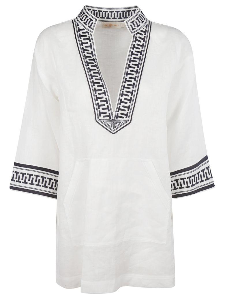 Tory Burch Tunic Dress - white