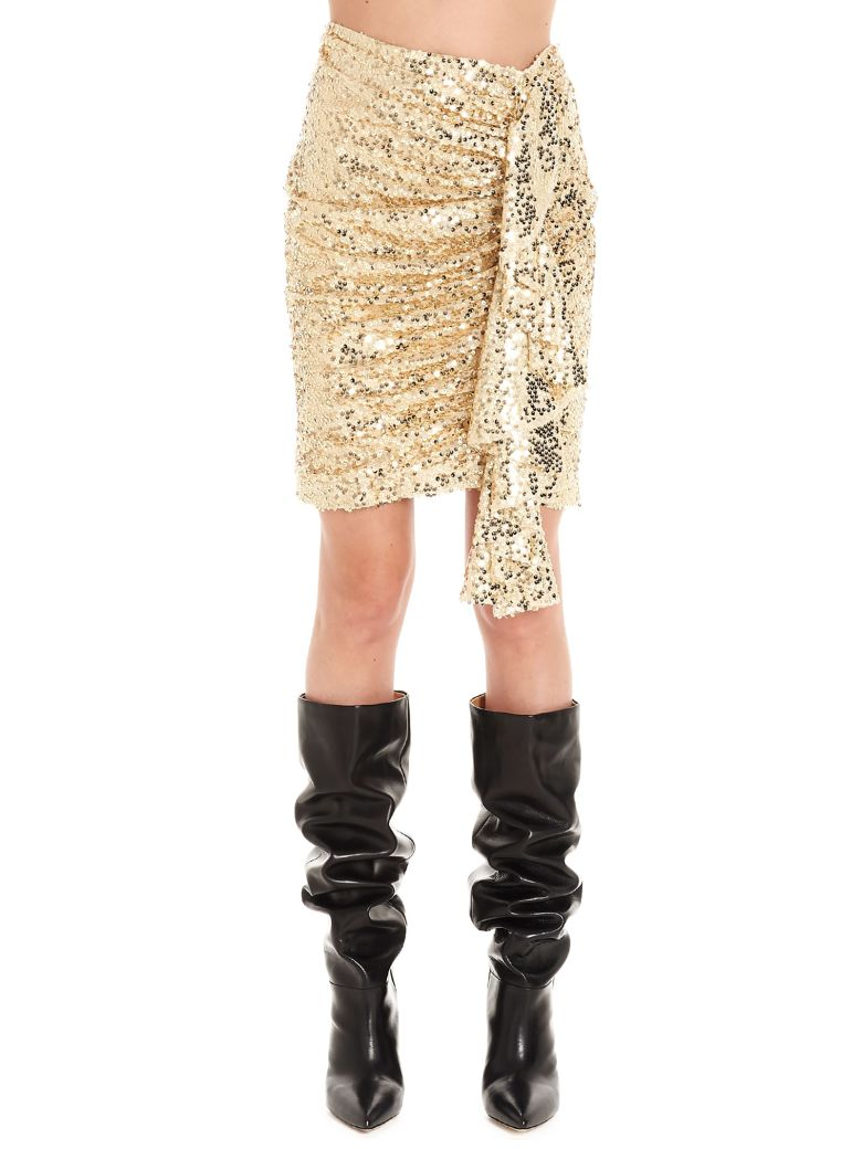 In The Mood For Love 'elena' Skirt - Gold