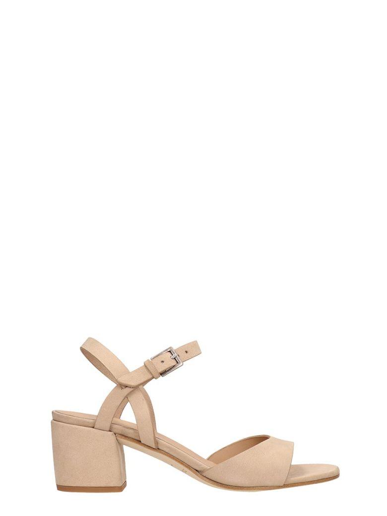 Roberto del Carlo Sand Calf Leather Sandals - beige