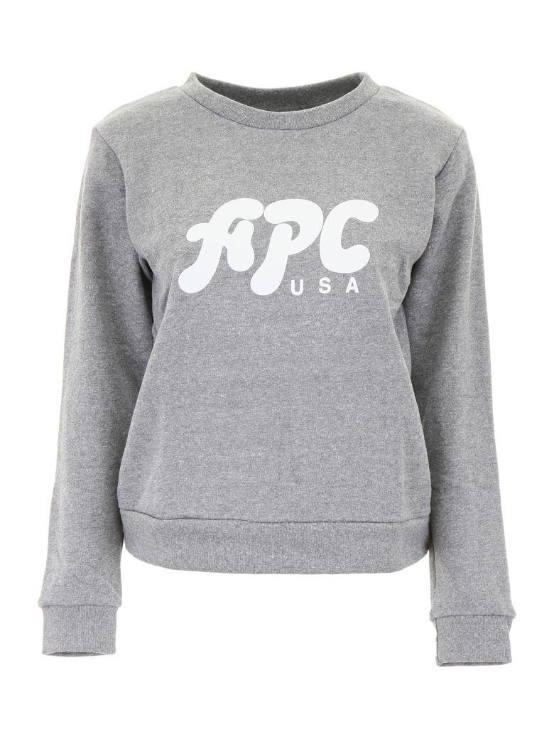 A.P.C. Emma Sweatshirt - GRIS CHINE|Grigio