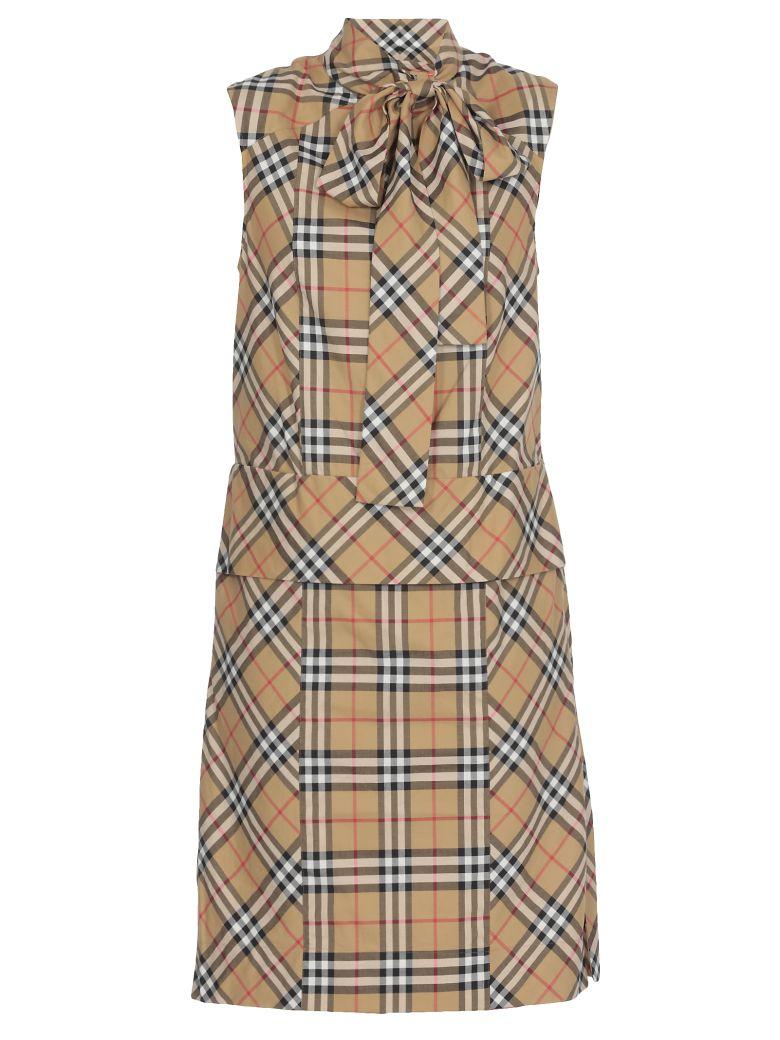 Burberry Luna Dress - ANTIQUE YELLW IP CHK