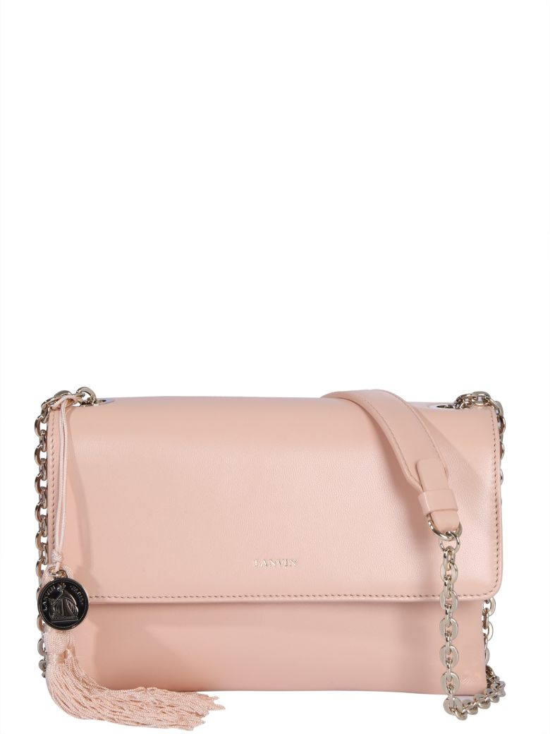 Lanvin Small Sugar Shoulder Bag - NUDE