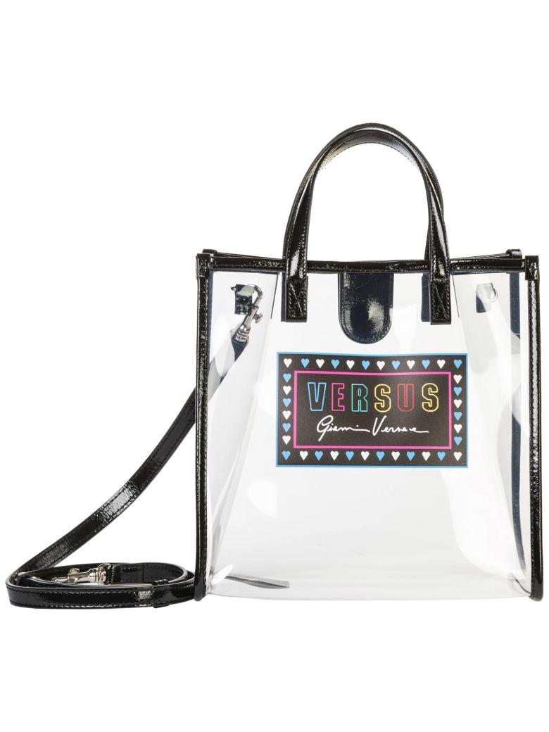 Versus Versace  Handbag Cross-body Messenger Bag Purse - Transparent