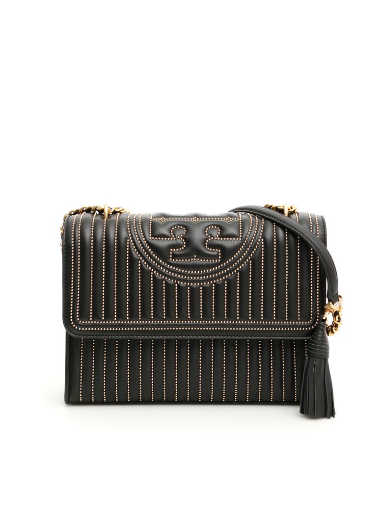 Tory Burch Fleming Mini Bag - BLACK (Black)