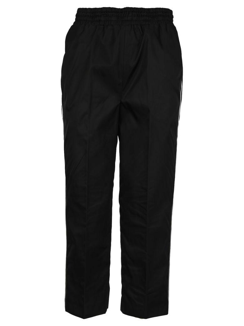 Prada Cropped Track Pants - BLACK