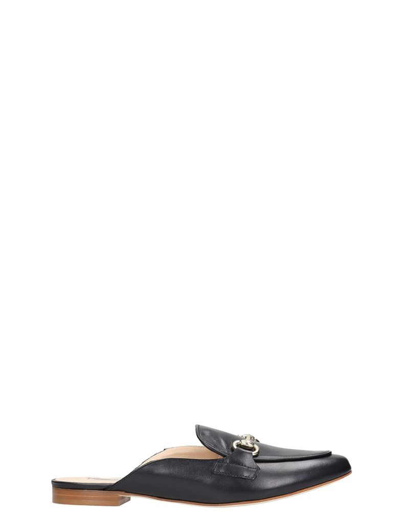 Fabio Rusconi Loafers In Black Leather - black