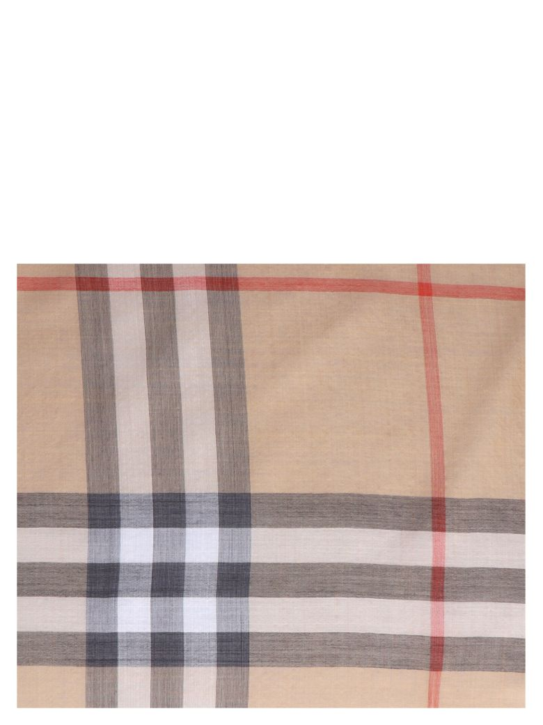 Burberry 'giant Check' Scarf - Multicolor